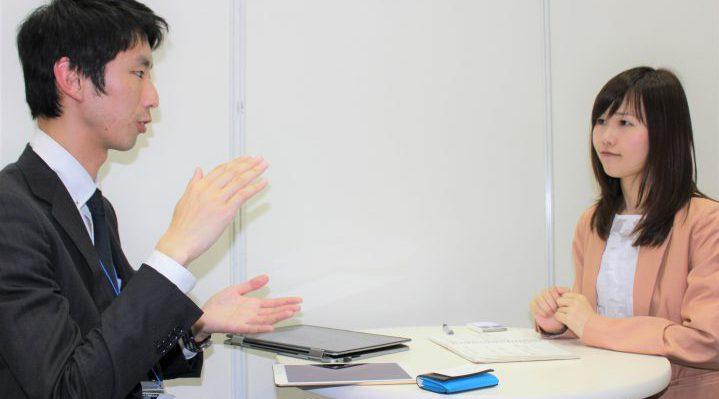 安部さんと対話している写真