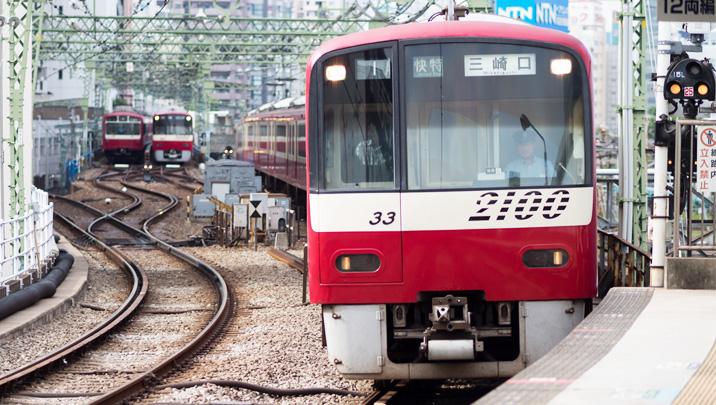 電車はAI(人工知能)の混雑イメージ