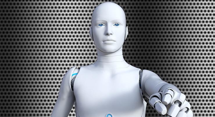 AI(人工知能)で「過去の偉人」を召喚イメージ