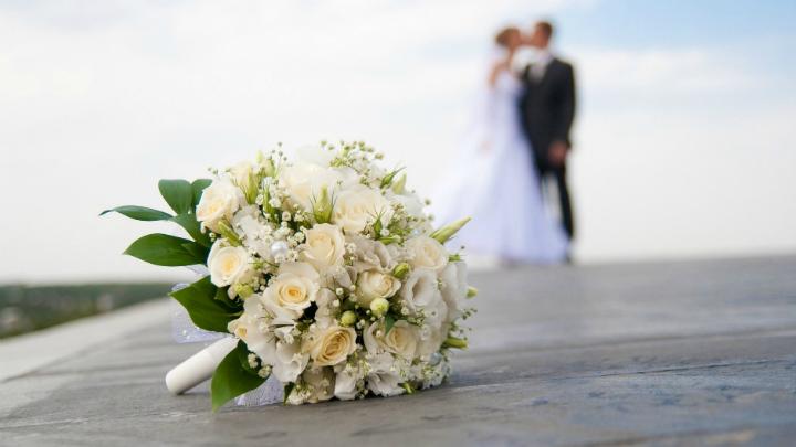 アメリカでの結婚式の様子