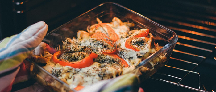 旦那の代わりに料理をサポートしてくれるオーブンレンジのイメージ