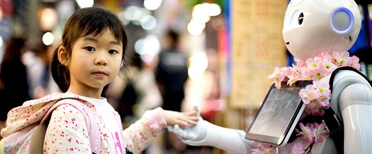 子供の世界、幼稚園にもAIロボットペッパーくんが仲間入り