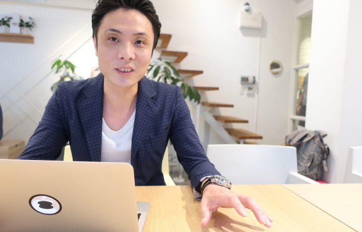 本の出版について語る浜道社長