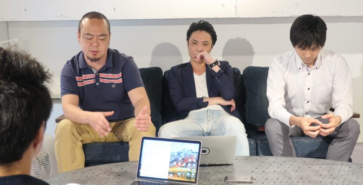 人工知能の未来について語る森田さん