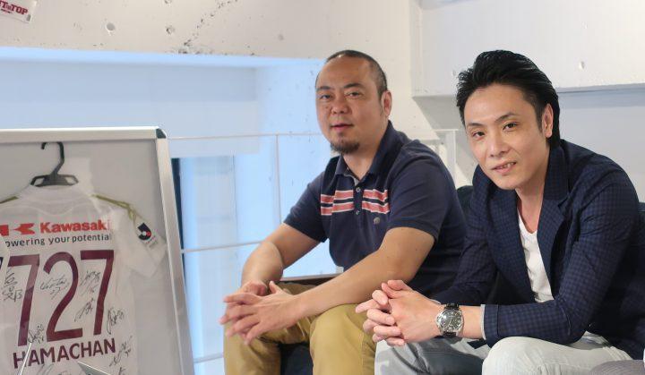 浜道社長と森田さんのイメージ