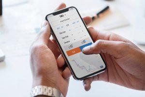 AIを使った株価予測アプリのイメージ