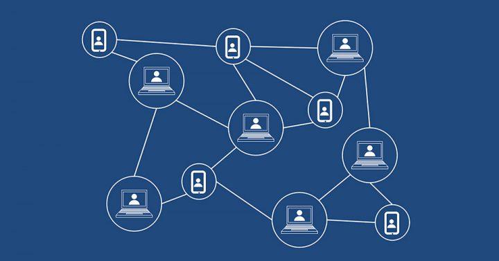 AIとブロックチェーンでセキュリティのイメージ