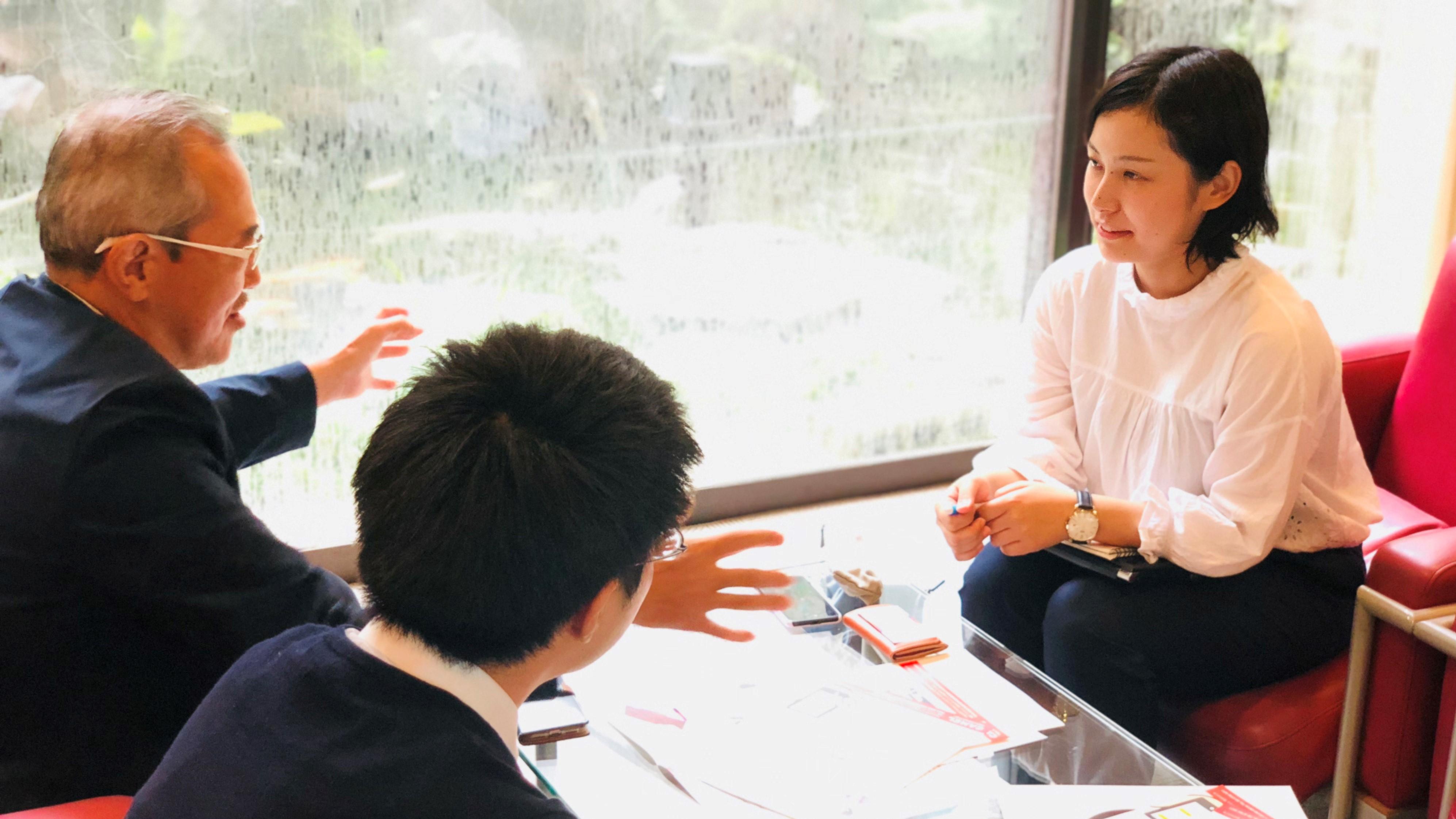 チャットボットについて語る太田さん