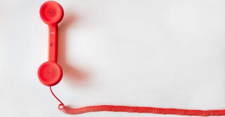 コールセンターの電話イメージ