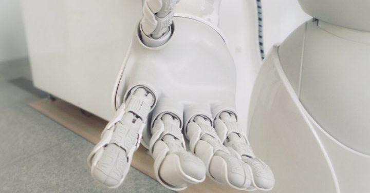 人工知能がコミュニケーションをとるイメージ