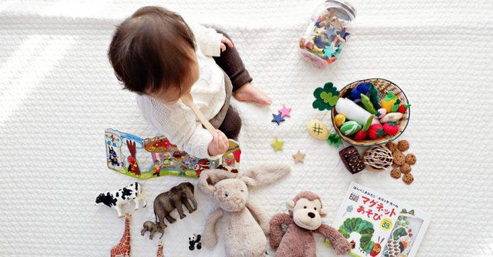 おもちゃと遊ぶイメージ