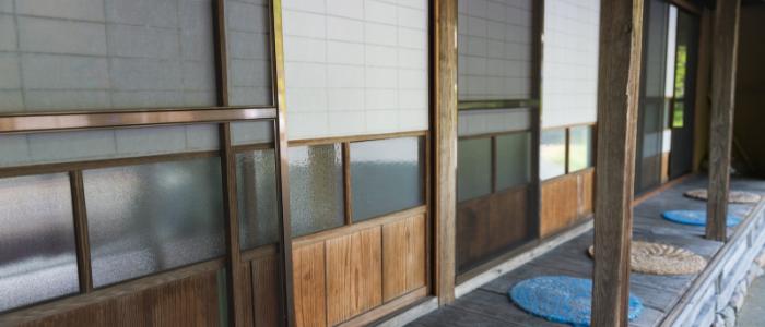 日本家屋の縁側のイメージ