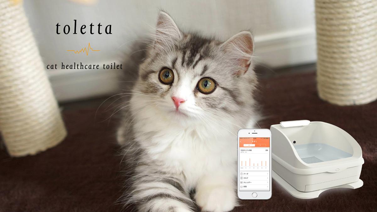 IoTで健康管理できるTOLETTA(トレッタ)