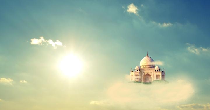 天空神殿のイメージ