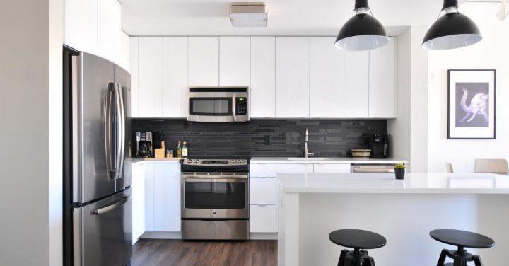 最新のキッチン家電のイメージ