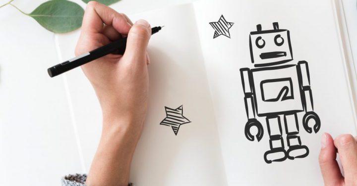 AIを想い描くイメージ