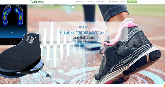「Stridalyzer」は足への負担を教えてくれるAI搭載の靴インソールイメージ
