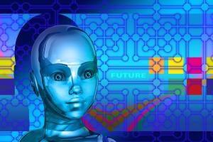少女のロボットのイメージ