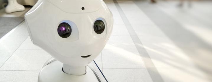 ついに感情を持つ人工知能(AI)ペッパーくんが登場!のイメージ