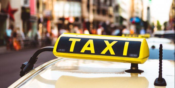 タクシーのアンテナ