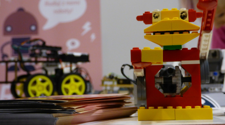 レゴロボットのイメージ