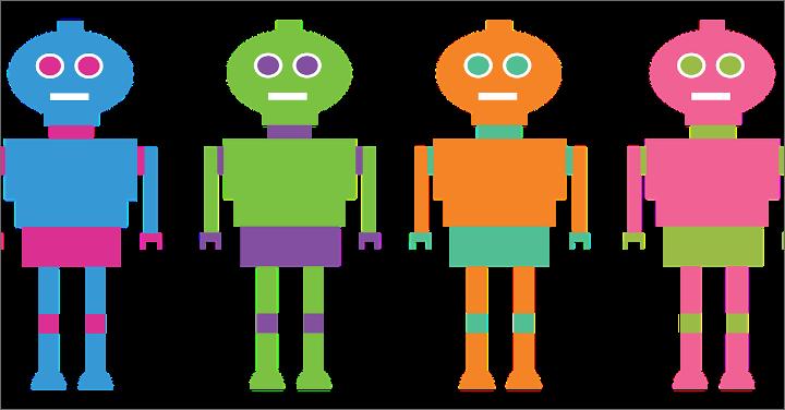 ロボットのイラストのイメージ