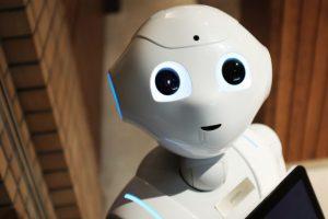 AI(人工知能)ロボットのイメージ
