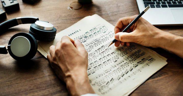 作曲のイメージ