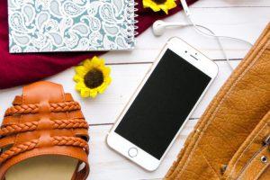 ファッションとアプリのイメージ