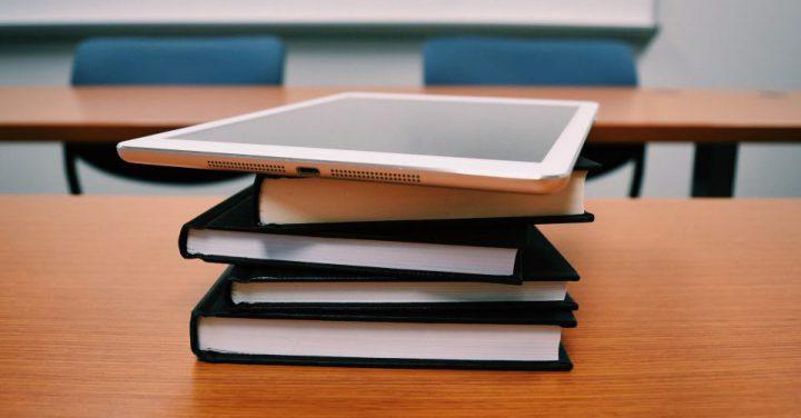 タブレットで学習するイメージ