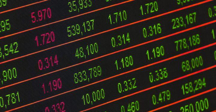 金融のデータのイメージ