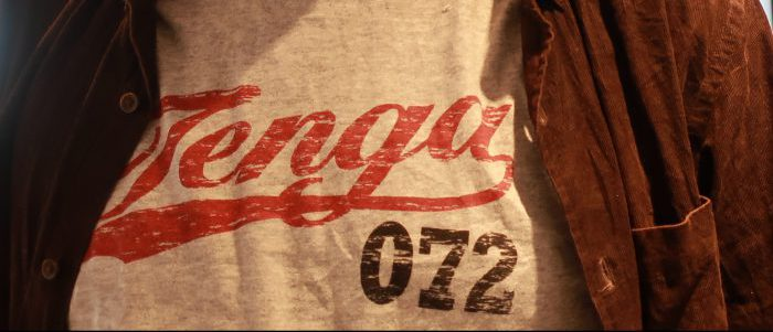 TENGAのTシャツ