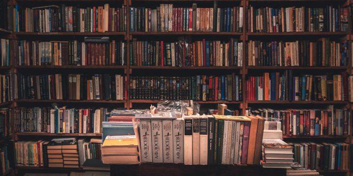 書棚で学習2