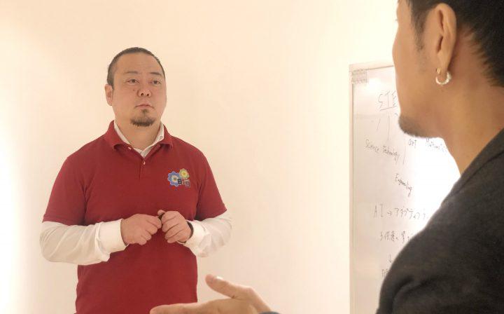 疑問を問いかける松島