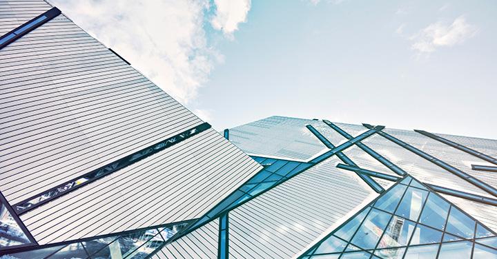 設計された建築物イメージ