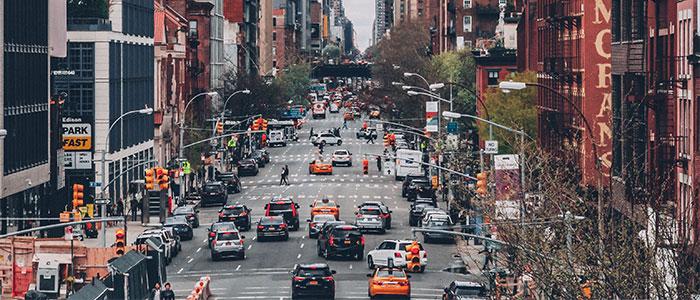 AIを利用する街のイメージ