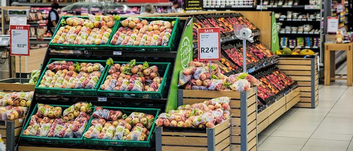 スーパーマーケット店内のイメージ