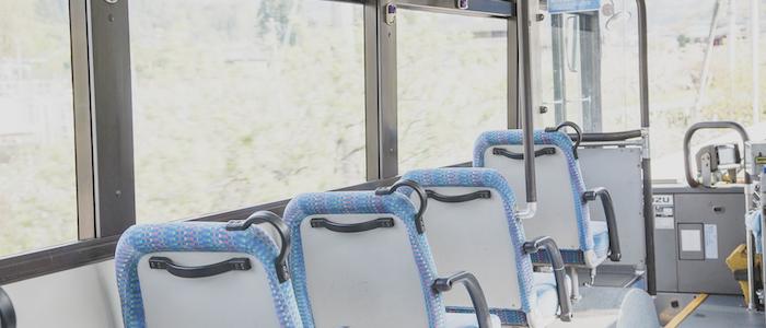 バス車内のイメージ