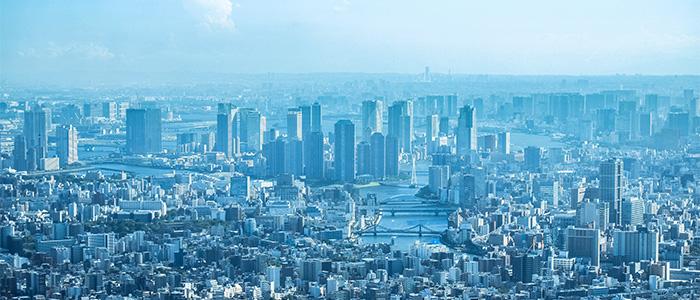 画像認識により発展した都市のイメージ