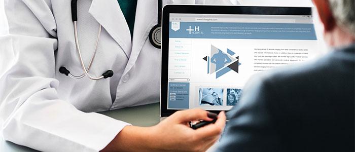 医療診断のイメージ