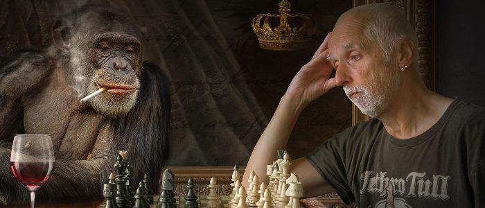 チェスをするイメージ