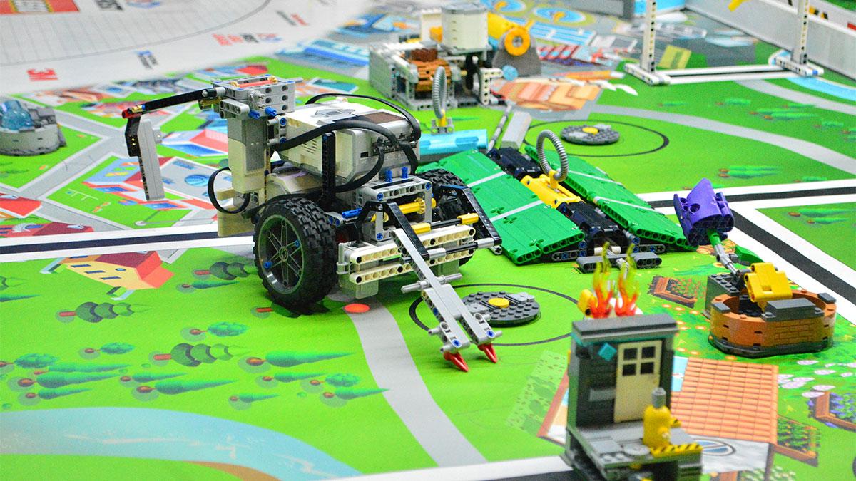 知育ロボットのイメージ