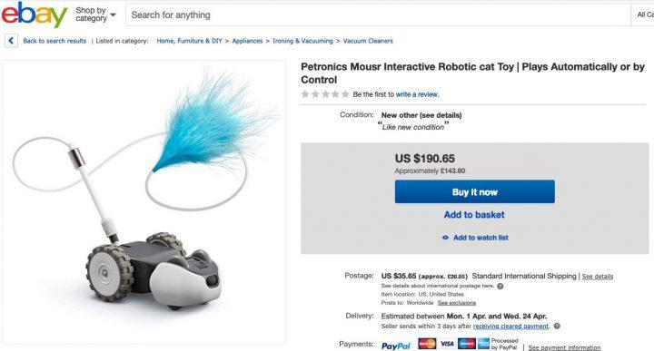 ebayでmousrを買おうとしたけど