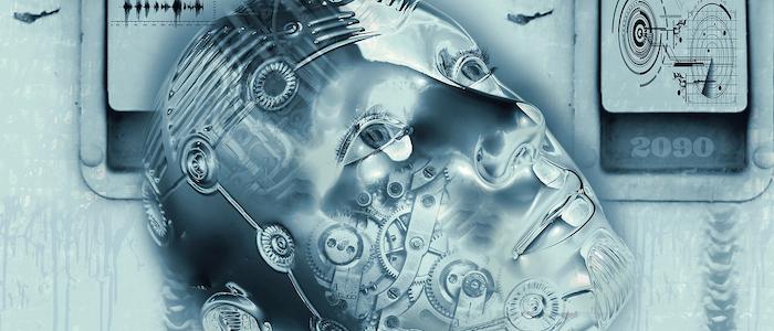 人工知能ロボットのイメージ
