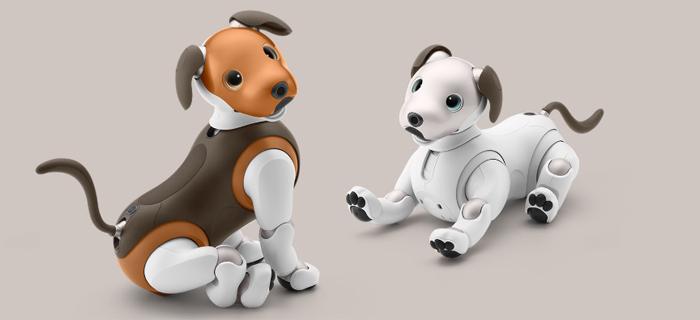 ロボットのペットと言えばアイボ