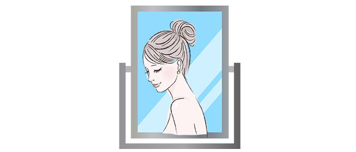 髪型シミュレーションのイメージ