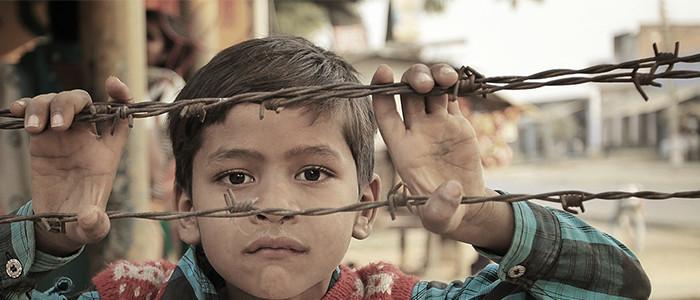 貧困のイメージ