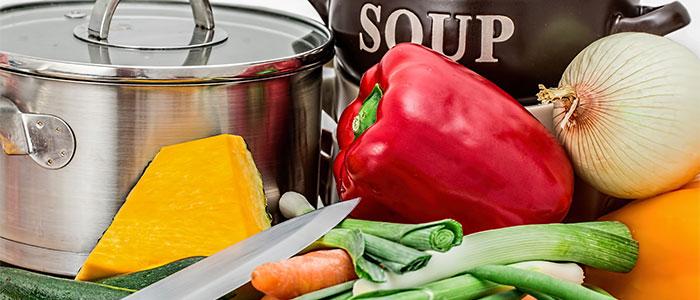 知能の例えとしての料理のイメージ