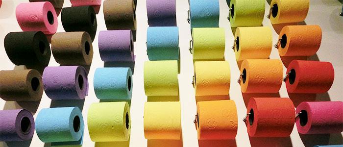 トイレットペーパーのイメージ