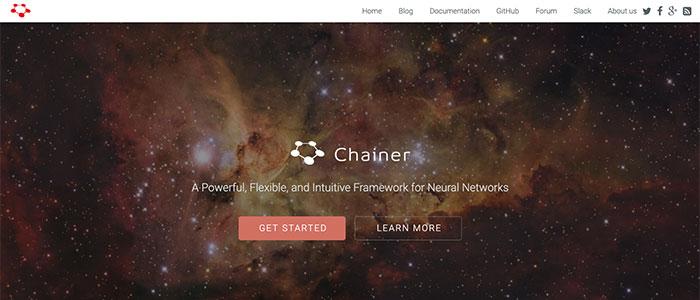 Chainerのイメージ